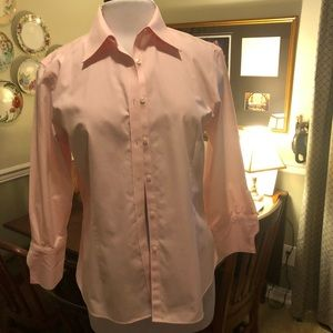Brooks Brothers fitted non-iron dress shirt Sz 12
